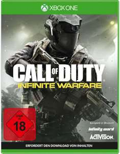 Call of Duty: Infinite Warfare (Xbox One) für 10€ versandkostenfrei (Media Markt)