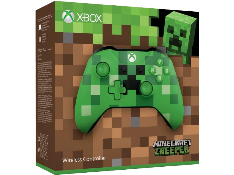 Minecraft Creeper Xbox One Controller + NBA 2K18 für 47€ (Media Markt)