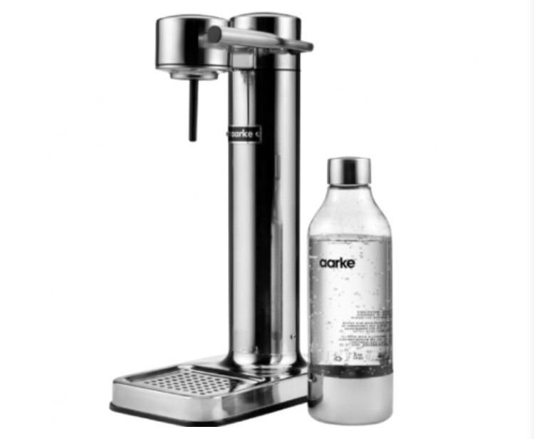 AARKE AA 01 Wassersprudler Silber für 129€ inkl. Versand (statt 190€)