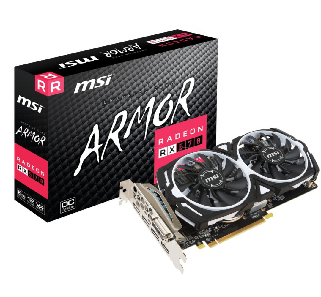 MSIRadeon RX 570 ARMOR 8G OC