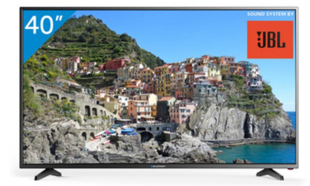 BLAUPUNKT Full HD LED TV 102cm (40 Zoll), Triple Tuner, BLA40/1380