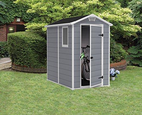 [Amazon] 15% auf Keter Gerätehäuser 1,8 m³ und 3,8 m³ Kunststoff, Pultdach