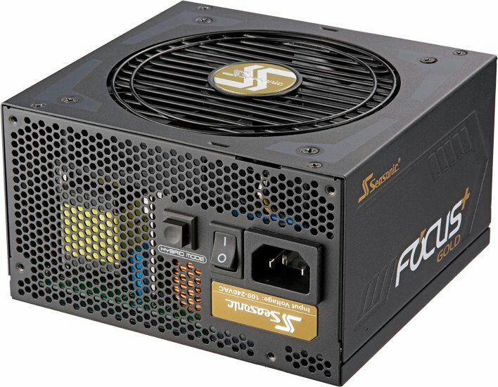 Seasonic Focus 80 Plus Gold 650W Netzteil - vollmodular, semi-passiv, DC-DC, 10 Jahre Garantie (NBB)