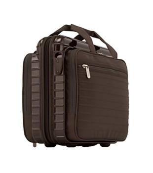 [RIMOWA] Laptoptasche Notebook Salsa Deluxe Hybrid 8.0l in braun und orientrot, Handgepäckmaße