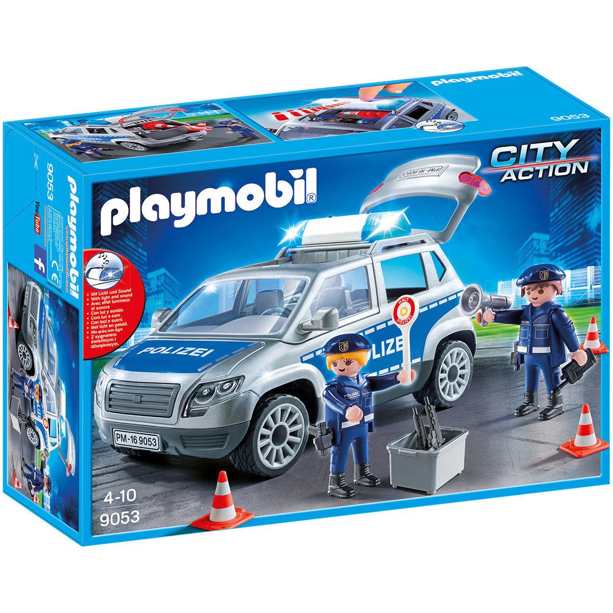 PLAYMOBIL® City Action 9053 Polizei-Geländewagen mit Licht und Sound im Karstadt Sale