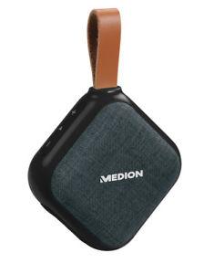MEDION LIFE E65242 MD 43588 mini Bluetooth 4.1 Lautsprecher Anhänger schwarz