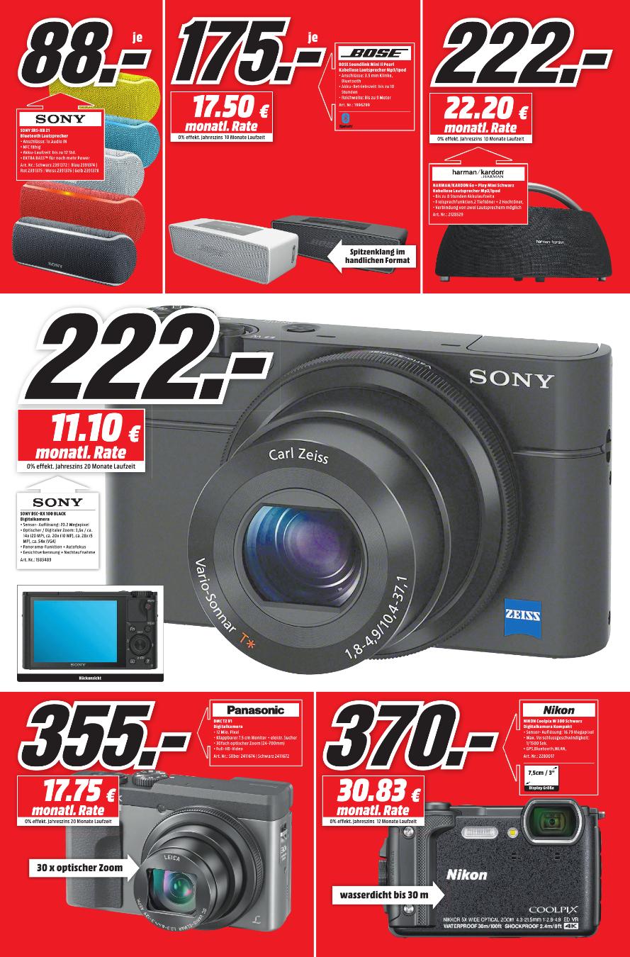[Lokal Media Markt Emden] Sony Cyber-shot DSC-RX100