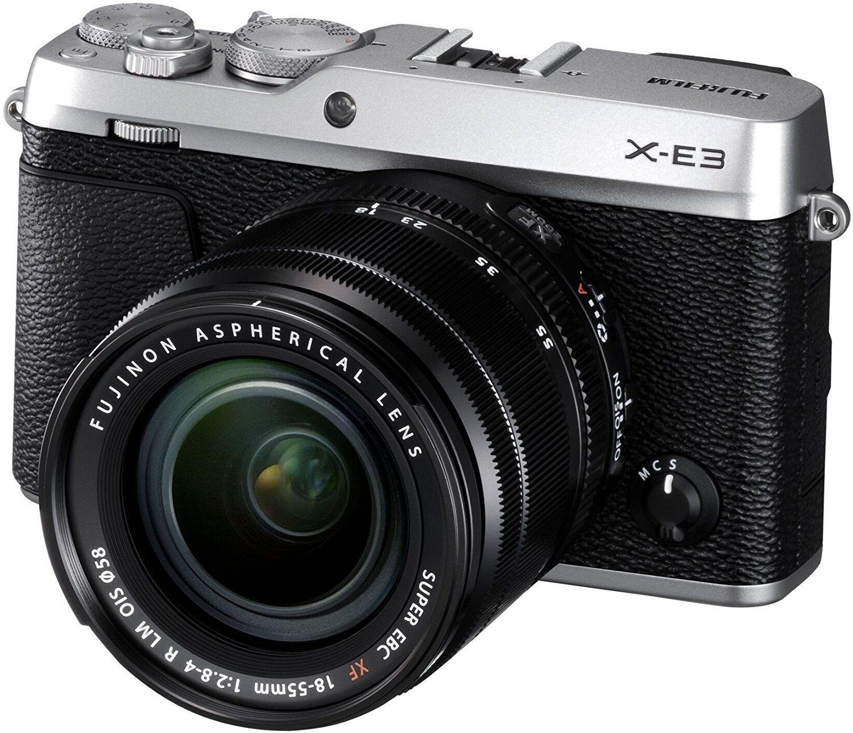 FUJIFILM X-E3 Systemkamera 24.3 Megapixel mit Objektiv XF18-55 mm f/2.8-4 // Amazon.fr