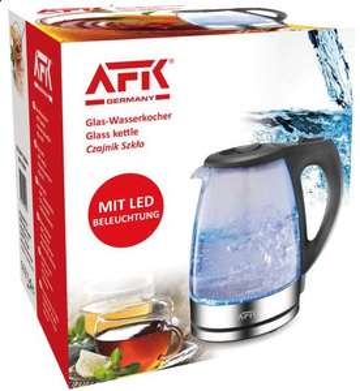 2 x AFK 1,7 l Wasserkocher mit LED Licht, 2200W für 14,58 € ( 7,29 € pro Stück) inkl. Versand @ xxxlutz