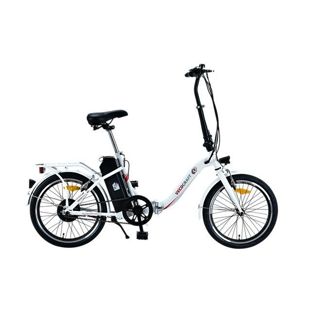 Vecocraft Elektrofaltrad E-Bike Nemesis weiß für 509,99 € inkl. Versand [plus.de]