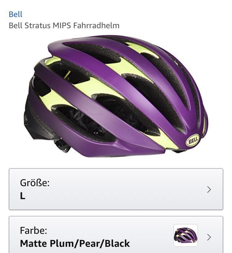 """Bell Stratus MIPS in der Farbe """"geht garnich"""""""
