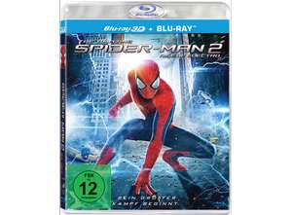 The Amazing Spider-Man 2: Rise of Electro (3D+2D) (2 Blu-rays) für € 5,72 (bei DODAX)