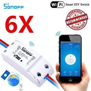 [eBay] Sonoff Basic 6x für 20,90€ Stückpreis 3,48€!