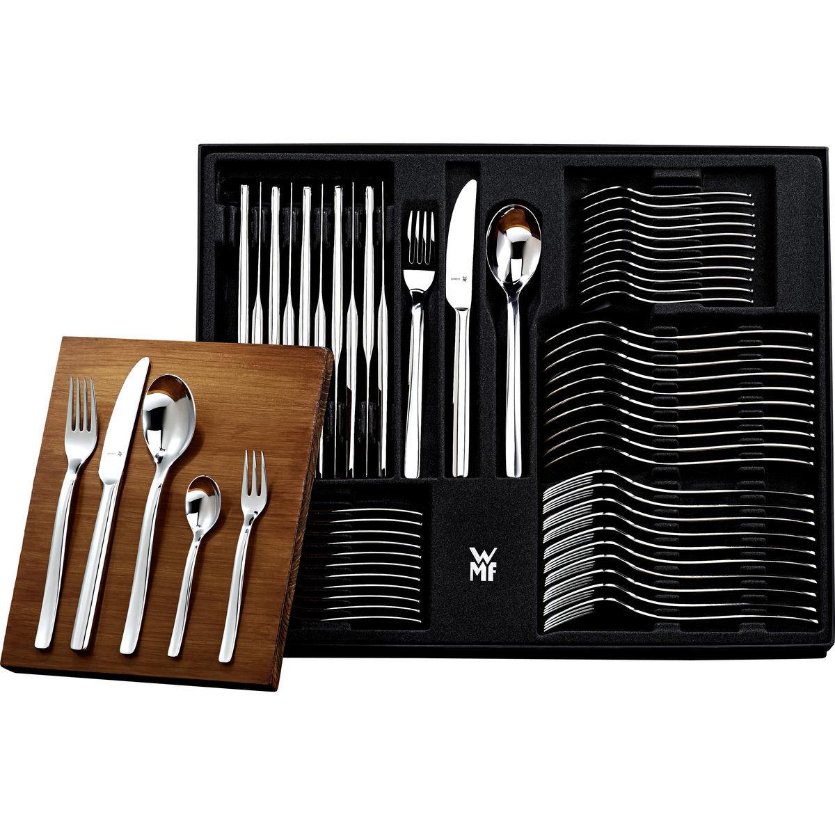 WMF Besteck-Garnitur ATIC 60-teilig, Cromargan protect und Hohlheft-Messer