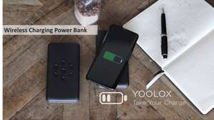 Qi Wireless Charging Powerbank - 10.000 mAH - Quick charge 3.0, Power Delivery 3.0