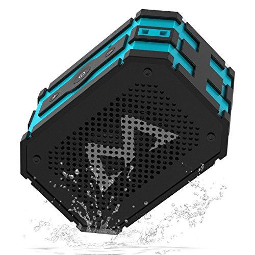 MPow Bluetooth-Lautsprecher mit Powerbank-Funktion, nach IP65 spritzwassergeschützt