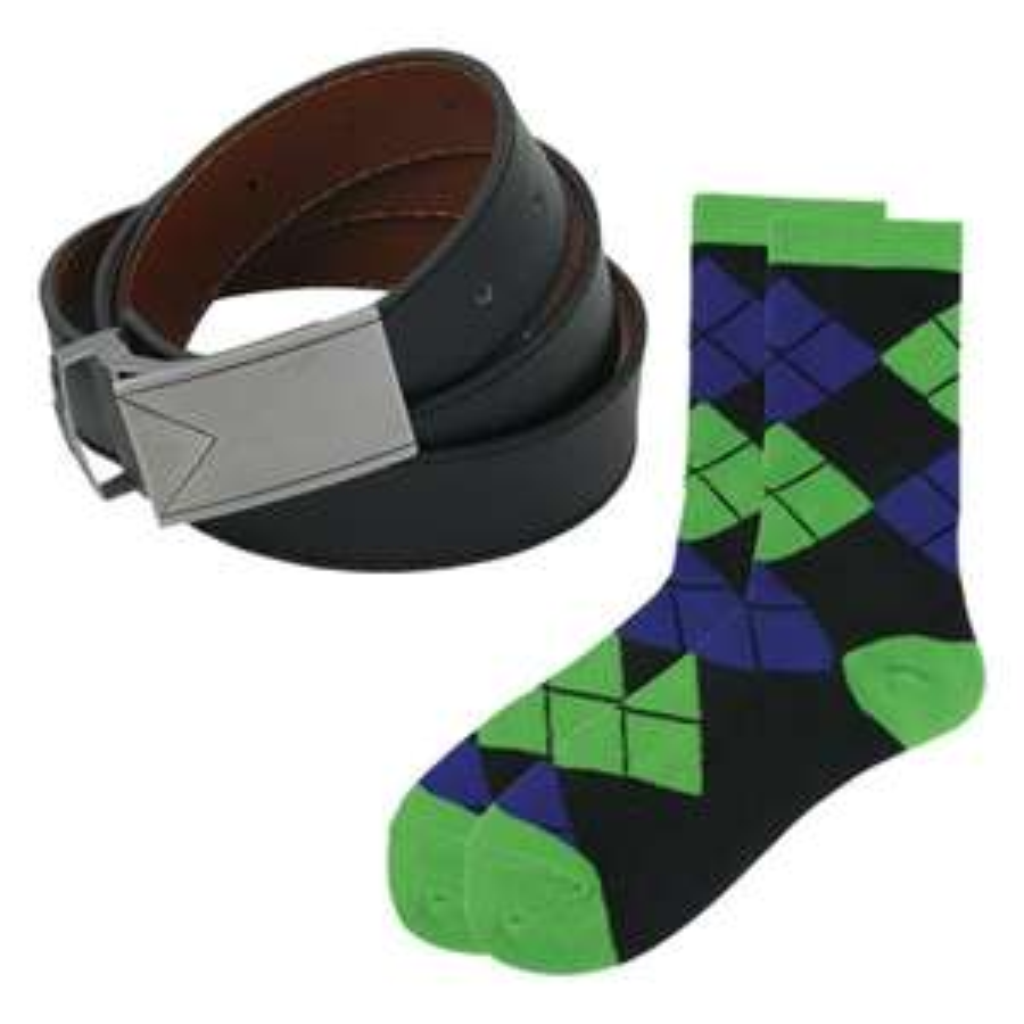 Dapper Gürtel und Socken Set