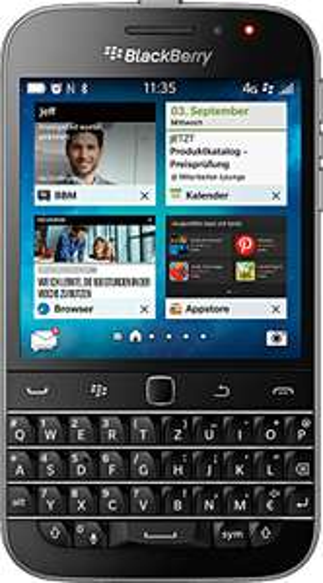 Blackberry Classic für 66€ inkl. Versand bei Telekom