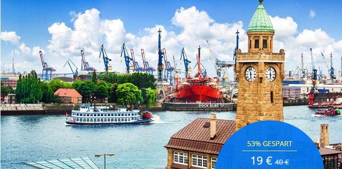 Hamburger Hafen: Gemütliche Rundfahrt für zwei, -53%