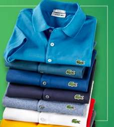 Läuft wieder: 3x Lacoste Waffelpiqué Polos (slim & regular) für 110€ - 36,66€ pro Poloshirt - 12 Farben & alle Größen (S-XXXL) bei Hirmer