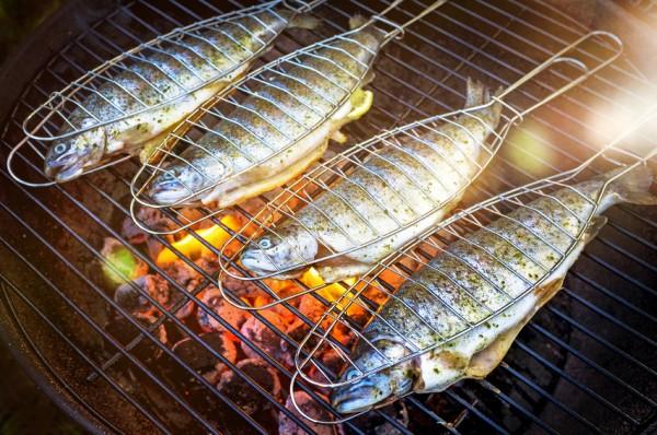 Grillfisch - Regenbogenforelle zum Braten und Grillen (600g)