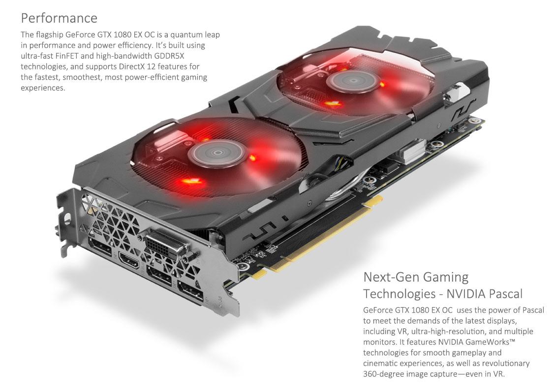 [Mindfactory] KFA2 GeForce GTX 1080 EX OC Edition