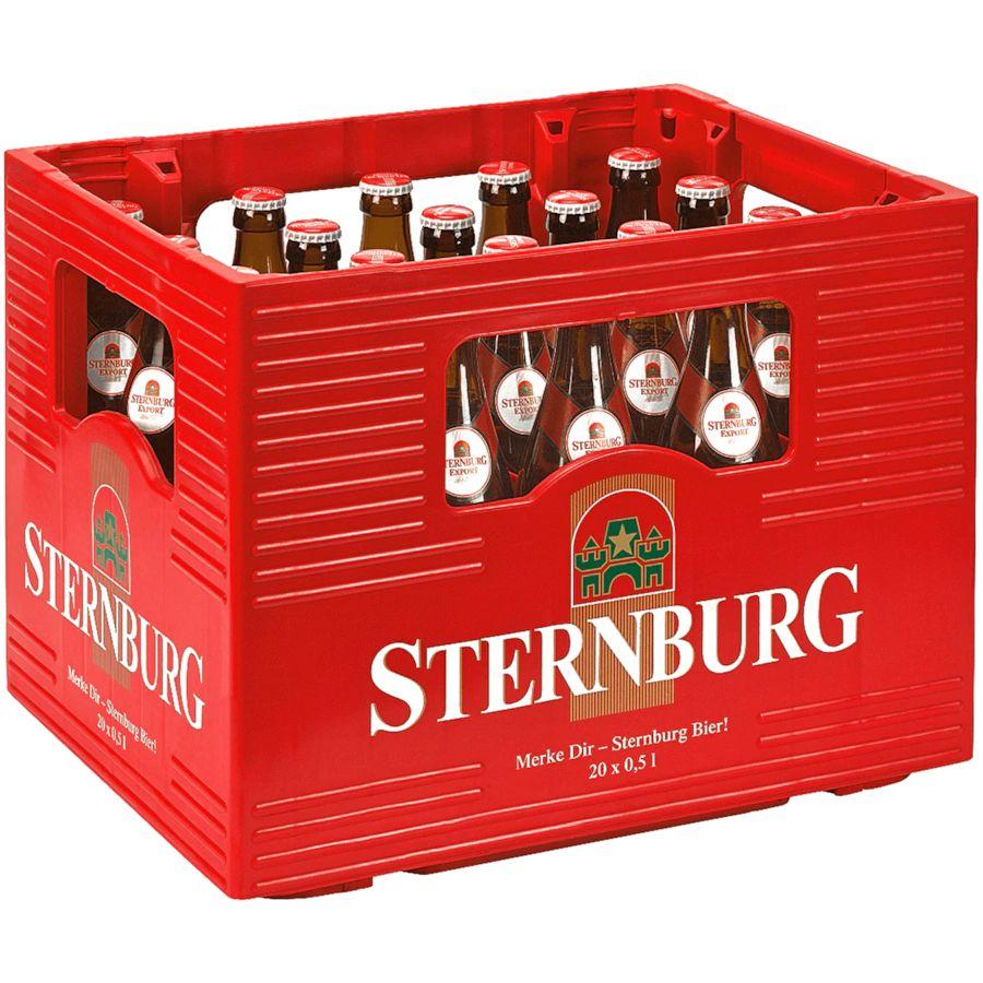 (evtl. lokal) Zwei Kästen Sternburg Export 20×0,5l für 11,80 bei allen Normas