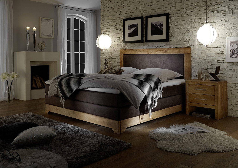 [Amazon] Boxspring-Betten aus Massivholz bzw. Kunstleder, 180x200 ab 505,65€