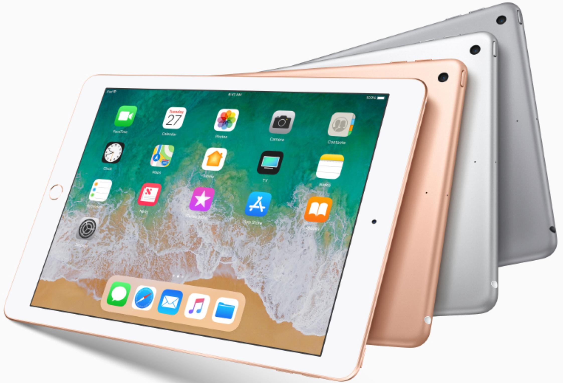 [universal.at] Apple iPad 2018 WiFi 32 GB 9,7 Zoll alle Farben für 292€ plus Versand nach D