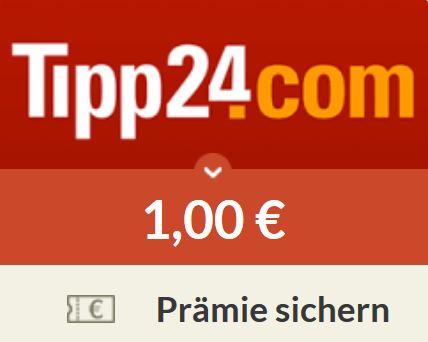 1€ Spartanien Prämie für tipp24 Neukunden + 1 gratis Feld EuroMillions