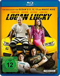 Logan Lucky (Blu-ray) für 9,99€ (Amazon Prime & Dodax)