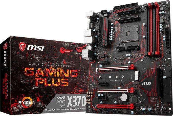Preisrutsch bei ATX-Mainboards AM4 X370 von MSI, z. B. MSI X370 Gaming Plus bei NBB