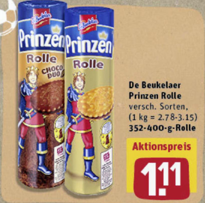 [Rewe/Reebate] De Beukelaer Prinzen Rolle für 0,61€