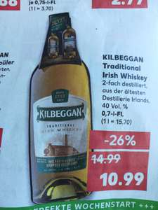 [Kaufland lokal] Kilbeggan Traditional Irish Whiskey 0,7l