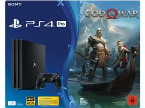 SONY PlayStation®4 Pro (1TB) Schwarz + God of War für 377€ [Mediamarkt]