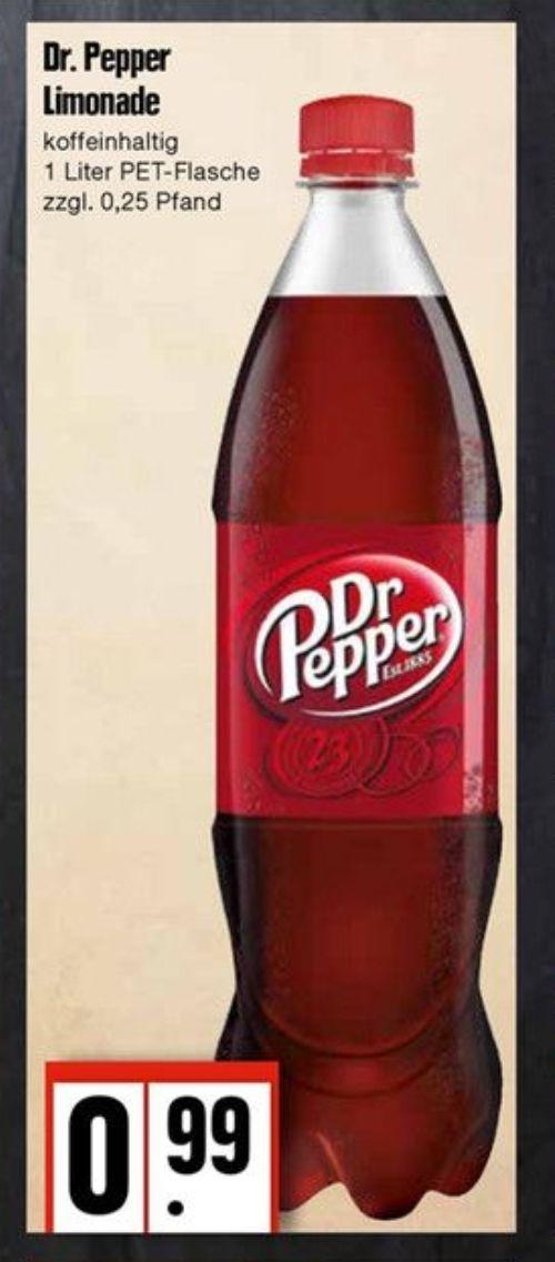 [Lokal] Dr Pepper 1ltr 99Cent (Edeka Nord)