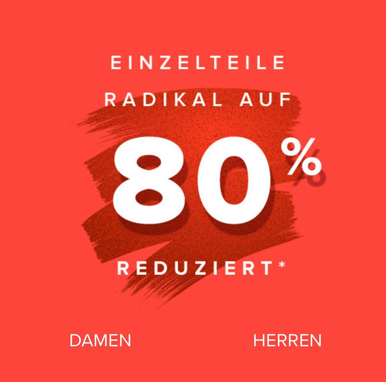 80% (+10% Newsletter?) auf ausgewählte Klamotten von Top Marken bei Dress for Less. Überwiegend Größe S verfügbar