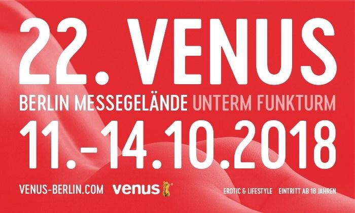 Tageskarte für die 22. VENUS in Berlin 11.-14.10. 2018