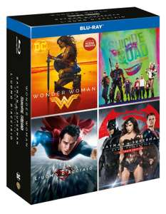 Wonder Woman + Suicide Squad + Batman v Superman + Man of Steel (Blu-ray) für 22,13€ (Amazon.it)