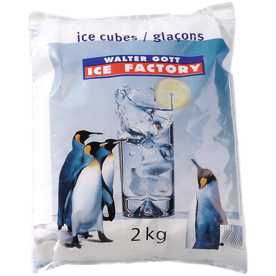 Crushed Ice / Würfel 2 Kilo Beutel für 1,55 EUR