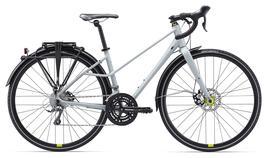 [Fahrrad XXL] Liv BeLiv Lifestyle Damenrad grau (matt) 3x8 Shimano Claris