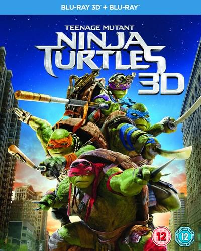 Teenage Mutant Ninja Turtles (3D Blu-ray + Blu-ray) für 4,34€ (Zoom.co.uk)