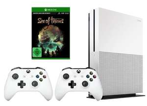 Xbox One S 1TB + 2ter Controller + Sea of Thieves ODER Rocket League