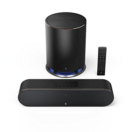 [Amazon] Hama Mini Soundbar mit integrierter Amazon Alexa SIRIUM3800ABT (mit Subwoofer, Dolby 2.1 Sound, Bluetooth/USB/WLAN, z.B. für PC, Smartphone, Tablet) Lautsprecher, Wireless Speaker schwarz