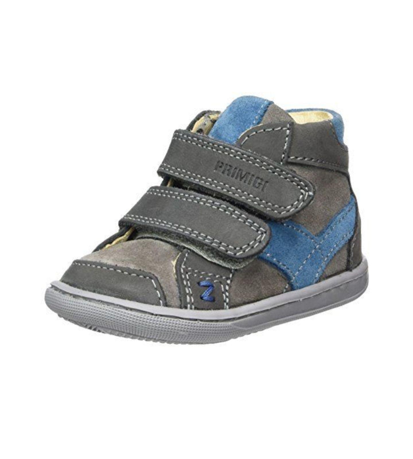 Primigi Baby Jungen PBX 8025 Sneaker, Grau (Antrac/Grigio), 22 EU