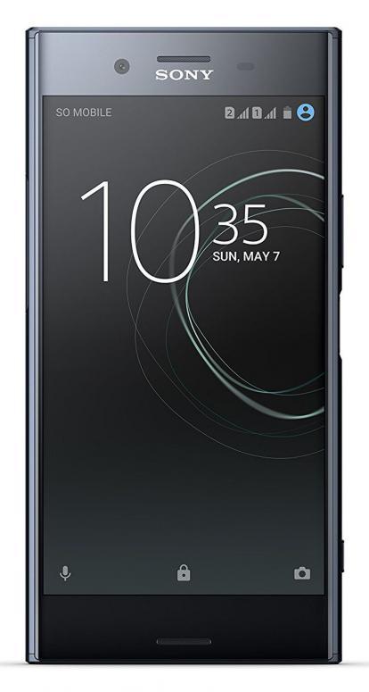 """Sony Xperia XZ Premium in Chrom oder Black, 4K, HDR, wasserdicht, 64Gb (256Gb erw.), 5,5"""", Anroid 8, Dual SIM"""