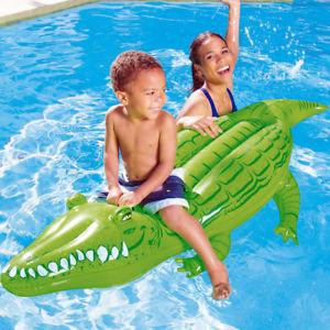 [Deuba / ebay] Bestway Schwimmtier Krokodil Wassertier Luftmatratze Aufblastier Kinder 168x89cm