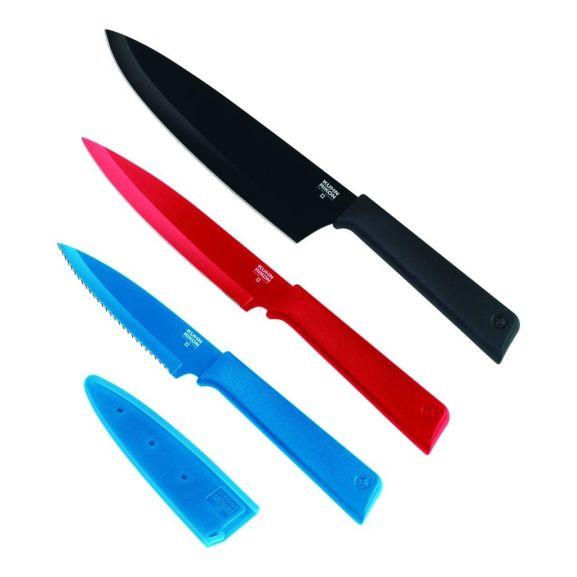LandGenuss Jahresabo für 24,95€  und gratis Kuhn Rikon Colori+ Messerset, 3-teilig im Wert von 26,34 Euro