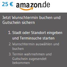 25€ Amazon Gutschein bei Arzttermine.de