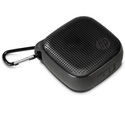 [nbb]  HP (X0N11AA) Bluetooth Mini Lautsprecher 300 (max. 8h Spielzeit, spritzwassergeschützt, 3,5mm AUX In, 78x78x32mm, 130 g) als Blitzdeal von 11-13 Uhr